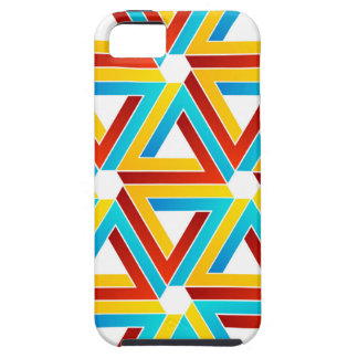 Background with Pen rose triangles iPhone 5 Cover