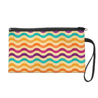 Background with stripes in retro 2 wristlets