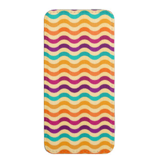 Background with stripes in retro 2 iPhone 5 pouch