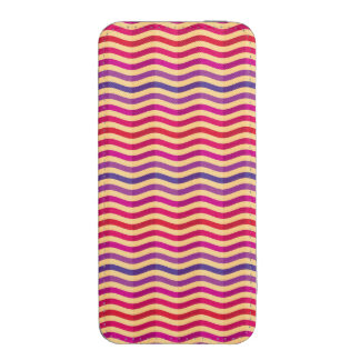 Background with stripes in retro 3 iPhone 5 pouch