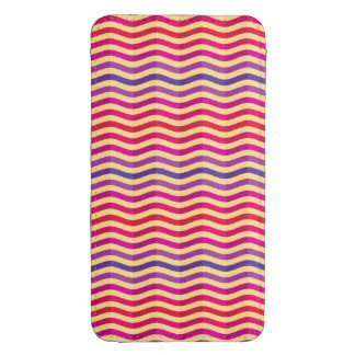 Background with stripes in retro 3 galaxy s4 pouch