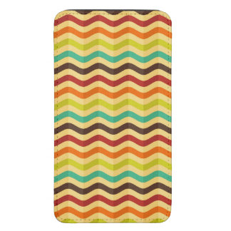 Background with stripes in retro 4 galaxy s5 pouch