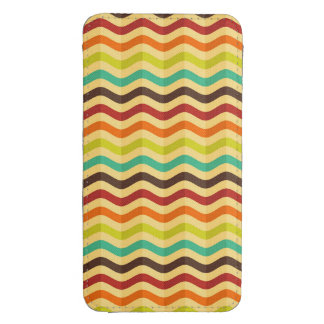 Background with stripes in retro 4 galaxy s4 pouch
