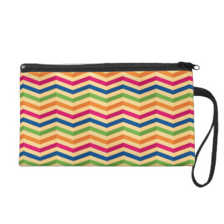 Background with stripes in retro wristlets