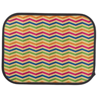 Background with stripes in retro car mat