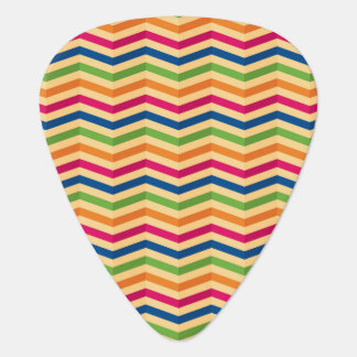 Background with stripes in retro guitar pick