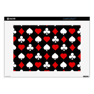 """Background with suits 15"""" laptop decals"""
