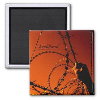 Backhand ALT Album Cover 2 Inch Square Magnet