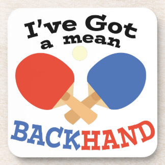 Backhand Coasters