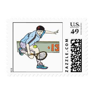 Backhanding Stamp