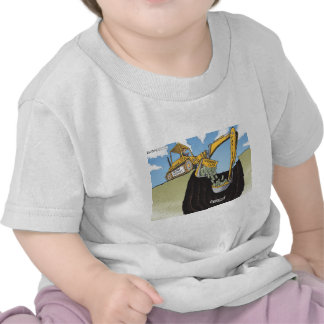 backhoe_Color tif Camisetas