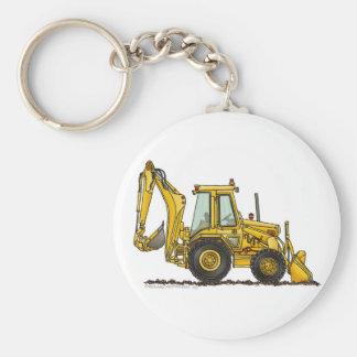 Backhoe Digger Loader Construction Key Chains