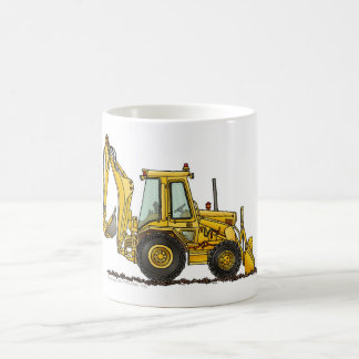 Backhoe Digger Loader Construction Mugs