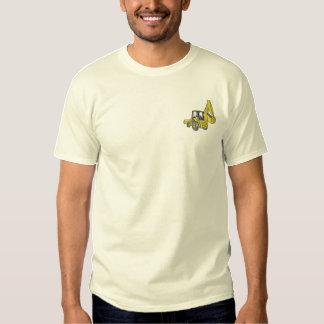 Backhoe Embroidered T-Shirt