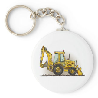 Backhoe Key Chain
