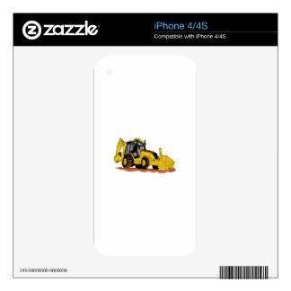 Backhoe Loader iPhone 4S Skin