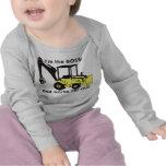 ¡backhoe_loader, soy BOSS! ¡, El papá trabaja para Camisetas