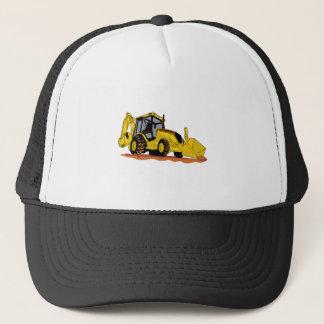 Backhoe Loader Trucker Hat