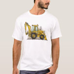 Backhoe Mens T-Shirt