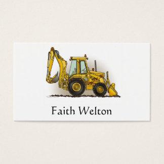 Backhoe Operator Business Card