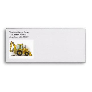 Backhoe Operator Envelope