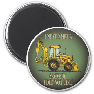 Backhoe Operator Quote Magnet