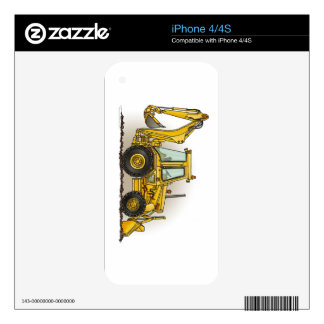 Backhoe Operator Skins For iPhone 4