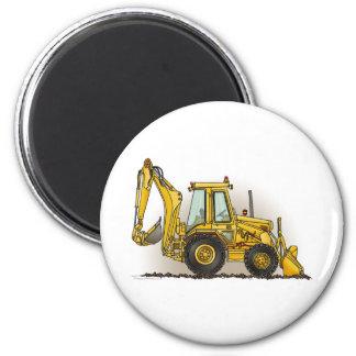 Backhoe Round Magnet