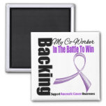 Backing My Co-worker Pancreatic Cancer Magnets