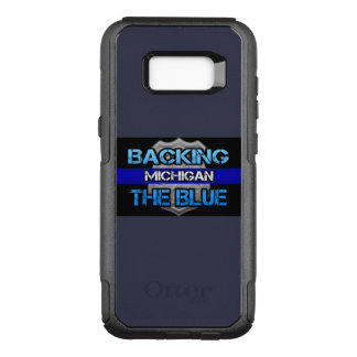 Backing the Blue Michigan Otterbox Case