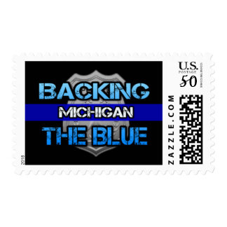 Backing the Blue Michigan Stamps