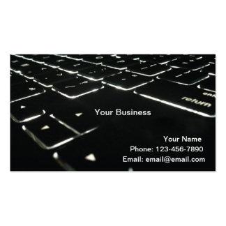 Backlit Business Card