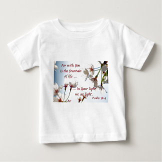 Backlit Cherry Blossoms 2 Baby T-Shirt