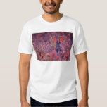 Backlit Cottontail Pink flowers T-Shirt