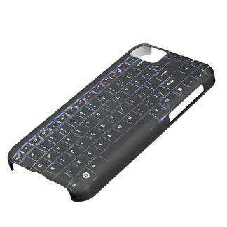 Backlit laptop keyboard print iphone case