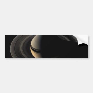 Backlit_Saturn_from_Cassini_Orbiter_2007_May_9 Bumper Sticker