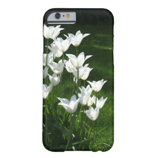 Backlit white tulips barely there iPhone 6 case