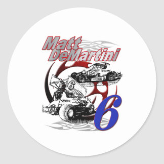BackLogo_16.5_Final Classic Round Sticker