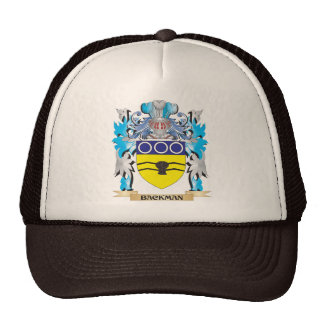 Backman Coat of Arms Hats