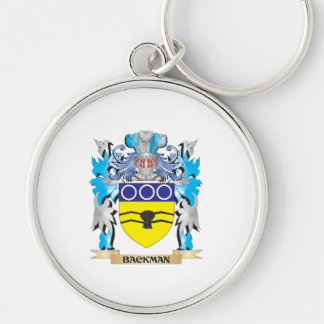 Backman Coat of Arms Key Chain