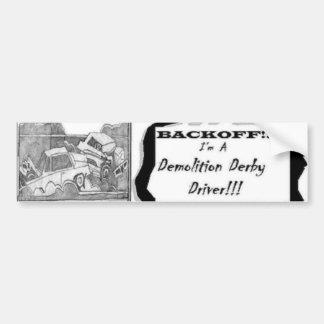 backoff etiqueta de parachoque