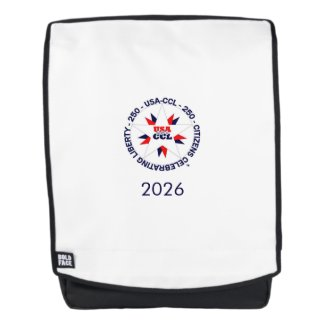 Backpack – America's 250th or CCL Birthday