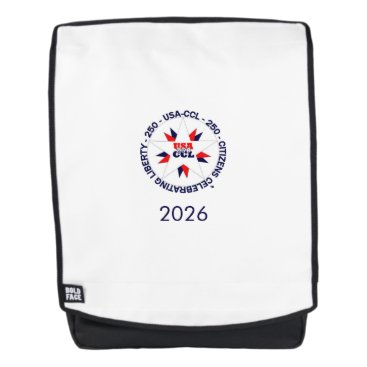 USA Themed Backpack – America's 250th or CCL Birthday