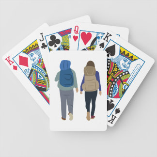 Backpack Bicycle Playing Cards