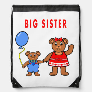 Backpack for kids with image of bears