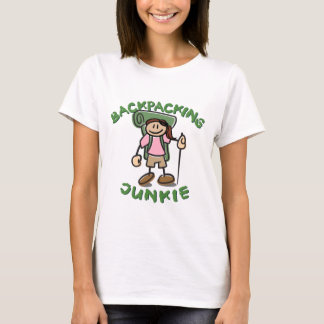 Backpack Junkie - Girl T-Shirt