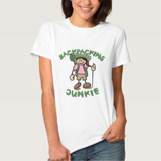 Backpack Junkie - Girl Tee Shirt