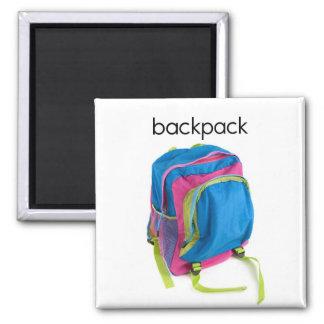 Backpack Refrigerator Magnet