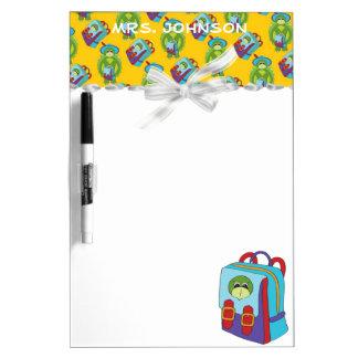 Backpack Teacher Dry Erase Board