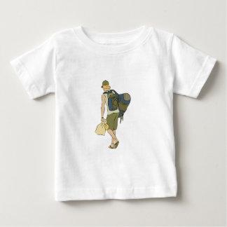 Backpack Traveler Baby T-Shirt